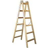MAT Painter's ladder 6 BC PREMIUM wooden - Stepladder
