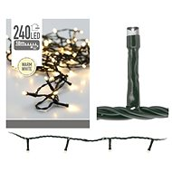 MAT Christmas chain 18m 240LED warm WHITE outdoor - Christmas Lights