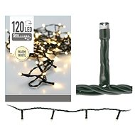 MAT chain Christmas 9m 120LED warm WHITE outdoor - Christmas Lights
