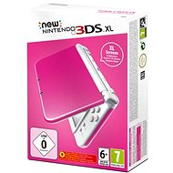 Nintendo NEW 3DS XL Pink + White - Herní konzole