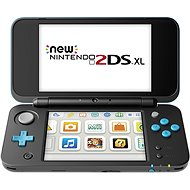 Nintendo NEW 2DS XL Black & Turquoise - Herní konzole