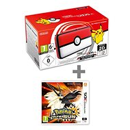Nintendo NEW 2DS XL Pokéball Edition + Pokémon Ultra Sun - Herní konzole