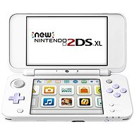 Nintendo NEW 2DS XL White & Levander + Tomodachi Life - Herní konzole