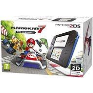 Nintendo 2DS Black & Blue + Mario Kart 7 - Herní konzole