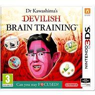 Dr. Kawashima's Devilish Brain Training - Nintendo 3DS - Hra pro konzoli