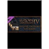 Europa Universalis IV: Extreme Edition Upgrade Pack - Herní doplněk