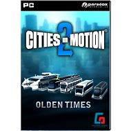 Cities in Motion 2: Olden Times DLC - Herní doplněk