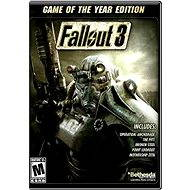 Hra na PC Fallout 3 Game of the Year Edition