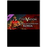 Sid Meier's Civilization V - Civilization and Scenario Pack: Korea - Herní doplněk