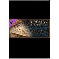 Europa Universalis IV: Republican Music Pack - Herní doplněk