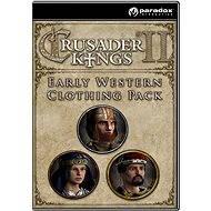 Crusader Kings II: Early Western Clothing Pack - Herní doplněk