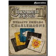 Crusader Kings II: Dynasty Shields Charlemagne - Herní doplněk