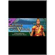Sid Meier's Civilization V: Civilization and Scenario Pack - Polynesia (MAC) - Herní doplněk