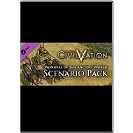 Sid Meier's Civilization V: Wonders of the Ancient World Scenario Pack (MAC) - Herní doplněk
