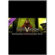 Sid Meier's Civilization V: Babylon - Herní doplněk