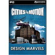 Cities in Motion: Design Marvels - Herní doplněk