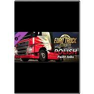 Euro Truck Simulator 2 - Polish Paint Jobs Pack - Herní doplněk