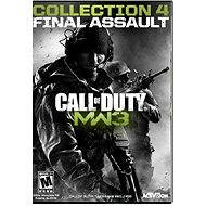 Call of Duty: Modern Warfare 3 Collection 4 - Final Assault (MAC) - Herní doplněk