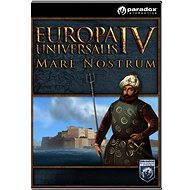Europa Universalis IV: Mare Nostrum (PC/MAC/LINUX) DIGITAL - Herní doplněk