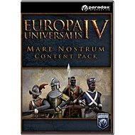 Europa Universalis IV: Mare Nostrum Content Pack (PC/MAC/LINUX) DIGITAL - Herní doplněk