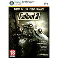 Fallout 3 Game of the Year Edition CZ (PC) DIGITAL - Hra pro PC