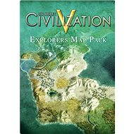 Sid Meier's Civilization V: Explorer's Map Pack (MAC) DIGITAL - Herní doplněk