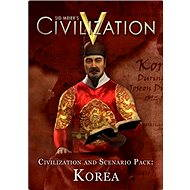 Sid Meier's Civilization V: Civilization and Scenario Pack - Korea (MAC) DIGITAL - Herní doplněk