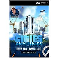 Cities: Skylines - Content Creator Pack: High-Tech Buildings (PC/MAC/LX) DIGITAL - Herní doplněk