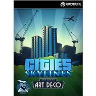 Cities: Skylines - Content Creator Pack: Art Deco (PC/MAC/LX) DIGITAL - Herní doplněk