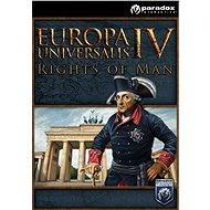 Europa Universalis IV: Rights of Man (PC) DIGITAL - Herní doplněk