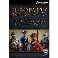 Europa Universalis IV: Rights of Man Content Pack (PC) DIGITAL - Herní doplněk