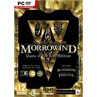 Hra na PC The Elder Scrolls III: Morrowind Game of the Year Edition Steam (PC) DIGITAL