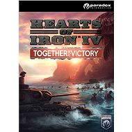 Hearts of Iron IV: Together for Victory (PC/MAC/LX) DIGITAL - Herní doplněk
