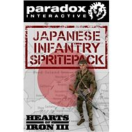 Hearts of Iron III: Japanese Infantry Sprite Pack (PC) DIGITAL - Herní doplněk