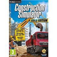 Construction Simulator Gold Edition (PC/MAC) DIGITAL - Hra pro PC