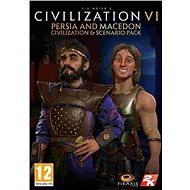 Sid Meier's Civilization VI - Persia and Macedon Civilization & Scenario Pack (PC) DIGITAL - Herní doplněk