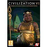 Sid Meier's Civilization VI - Nubia Civilization & Scenario Pack (PC) DIGITAL - Herní doplněk