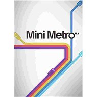 Mini Metro (PC/MAC/LX) DIGITAL - Hra pro PC