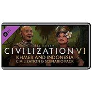 Sid Meier's Civilization VI - Khmer and Indonesia Civilization & Scenario Pack (PC) DIGITAL - Herní doplněk