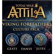 Total War: ATTILA – Viking Forefathers Culture Pack (PC) DIGITAL - Herní doplněk