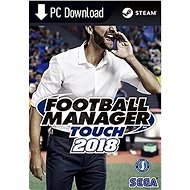 Football Manager Touch 2018 (PC/MAC/LX) DIGITAL - Hra pro PC
