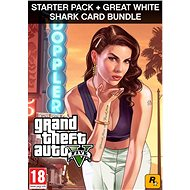 Grand Theft Auto V + Criminal Enterprise Starter Pack + Great White Shark Card (PC) DIGITAL