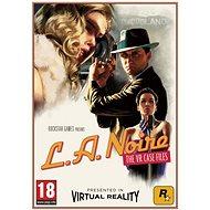 L.A. Noire: The VR Case Files (PC) DIGITAL - Hra na PC