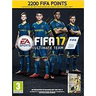 FIFA 17 Points (PC) DIGITAL 2200 FUT (CZ) - Hra pro PC