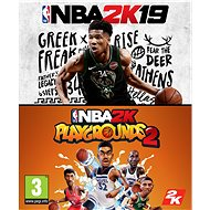 NBA 2K19 + NBA 2K Playgrounds 2 (PC) DIGITAL (CZ) - Hra pro PC