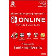 365 Days  Online Membership (Family) - Nintendo Switch Digital - Dobíjecí karta