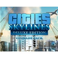 Cities: Skylines - Deluxe Edition Upgrade Pack (PC)  Steam DIGITAL