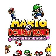 Mario vs Donkey Kong: Minis March Again - Nintendo 2DS/3DS Digital - Console Game
