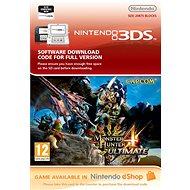 Monster Hunter 4 Ultimate - Nintendo 2DS/3DS Digital