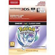 Pokémon Crystal DCC - Nintendo 2DS/3DS Digital - Hra pro konzoli
